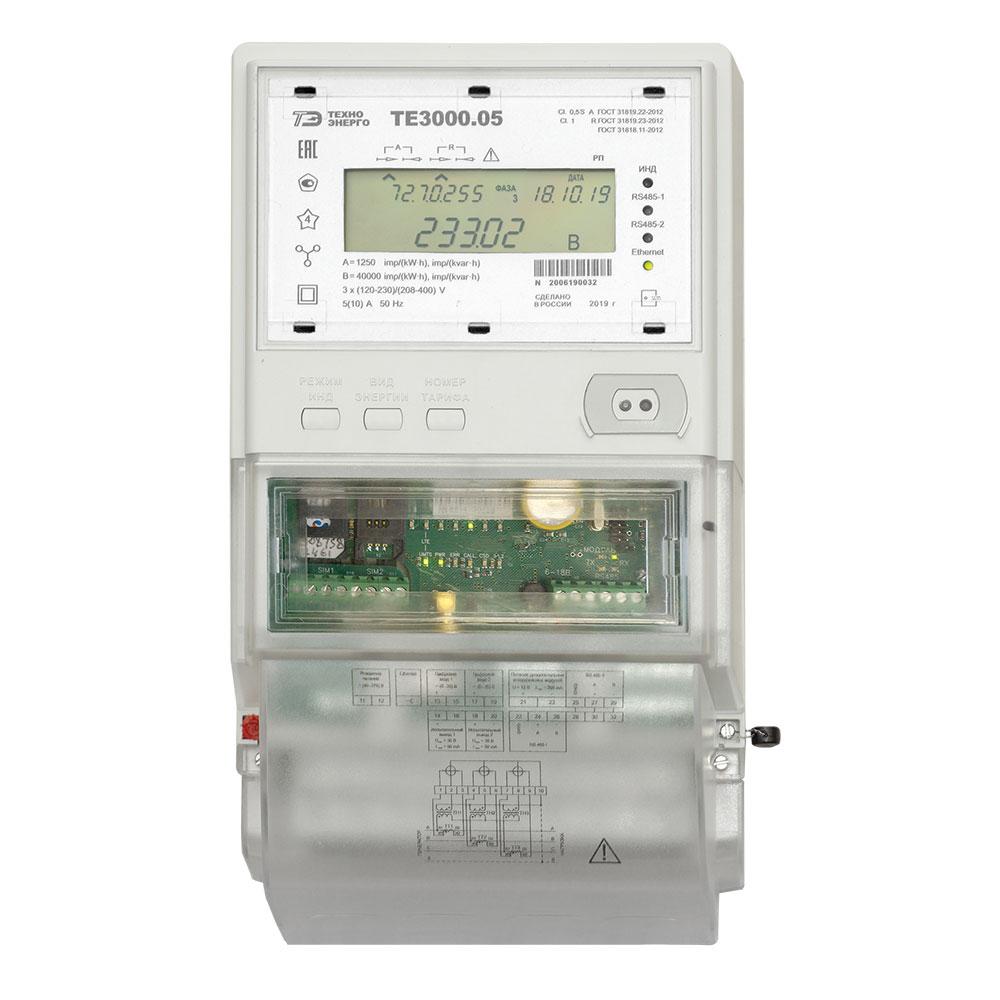 ТЕ3000 счетчик электроэнергии трехфазный
